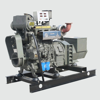 Global Service Weichai Power 24kw to 120kw marine diesel generator with CCS