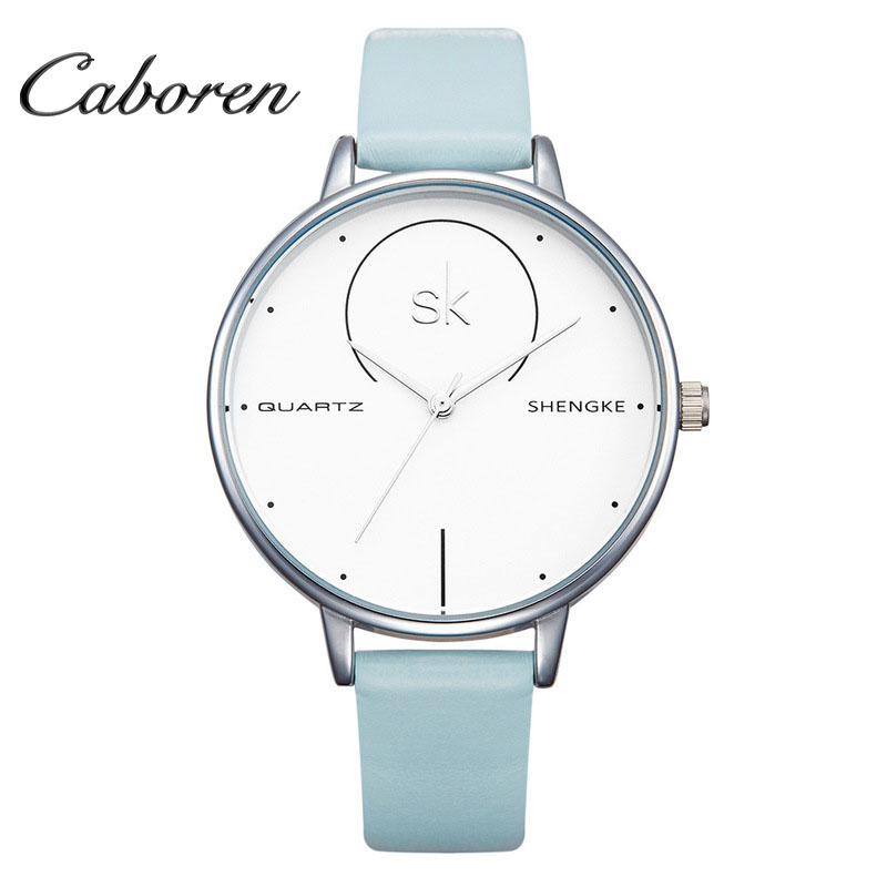 OEM ultrathin mesh band simple elegance fashion women watches
