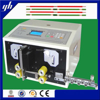 electric flat wire cable cutting and stripping machine made in suzhou
