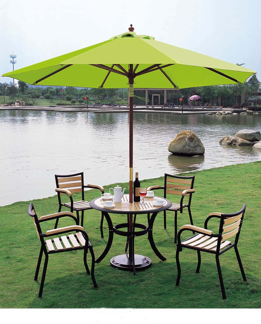 Portable Parasol Outdoor Furniture Umbrella Yard Garden Sun Anti Uv Rays And
