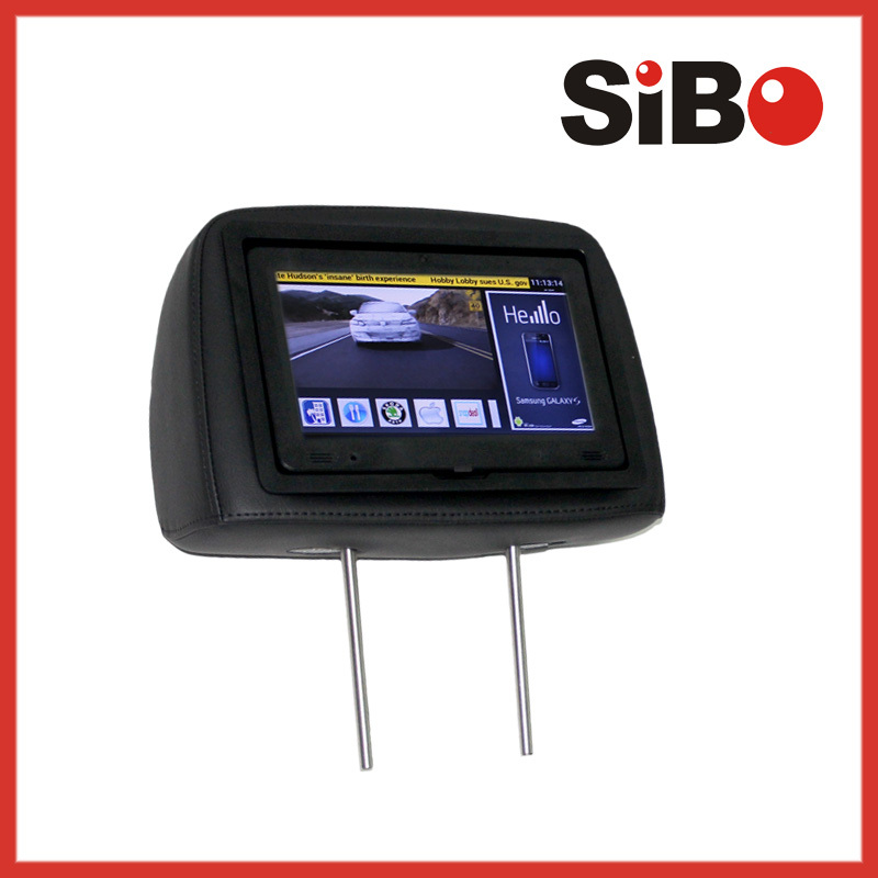 9 Inch car tv monitor with usb update taxi video advertising screen, lcd cab car/taxi advertising screen