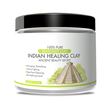 Newly Organic Natural Mineral Bentonite Indian Healing Clay Masks For Private Label