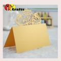 popular laser cut customizable paper wedding day seat table name place card