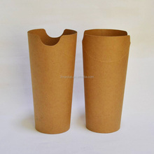 High quality 12oz kraft paper french fry paper cups