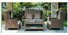 High quality antique sofa suites ourdoor rattan sofa set
