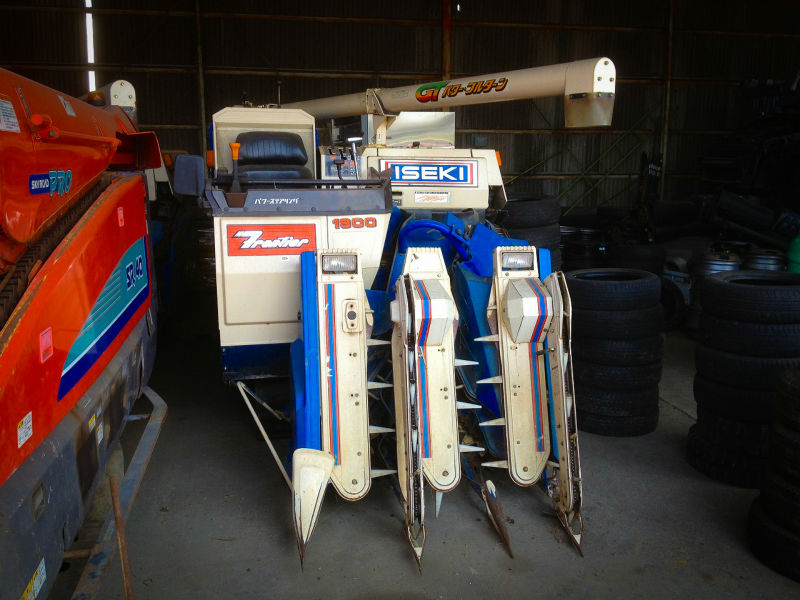 USED ISEKI HL1900 GRAIN HARVESTER