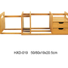 Factory Expandable And Adjustable Bookshelf Bamboo