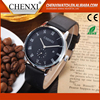 Hot Sale Vogue Japan Movement Day/Date New Quartz Watch Men Leather Watch