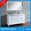Homedee Mirror Basin Combined Vanity and MDF Chinese Bathroom Vanity Cabinet