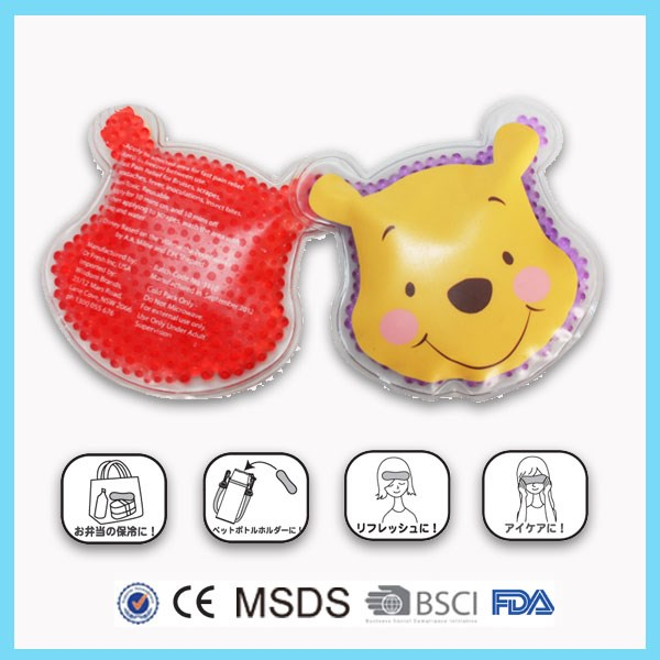 Cartoon Shape Custom Mini Ice Pack For Food Storage