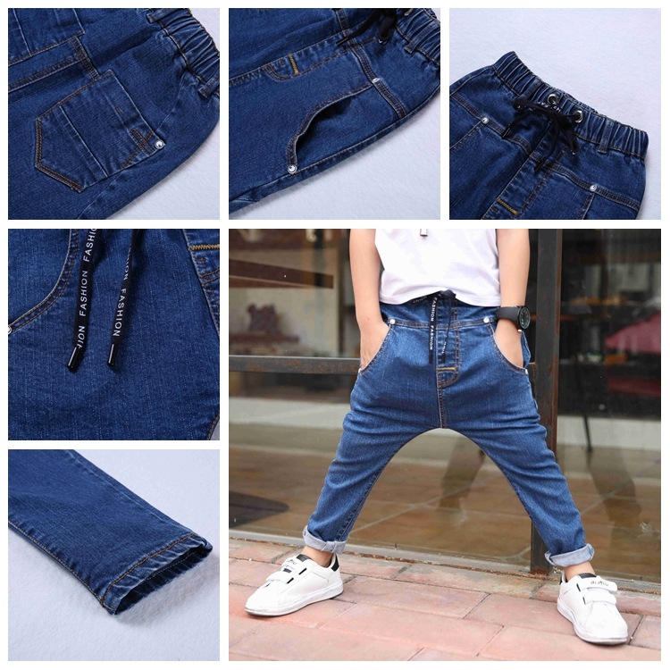 2017 Fashion Man Latest Hot Selling Boys Brand Jeans