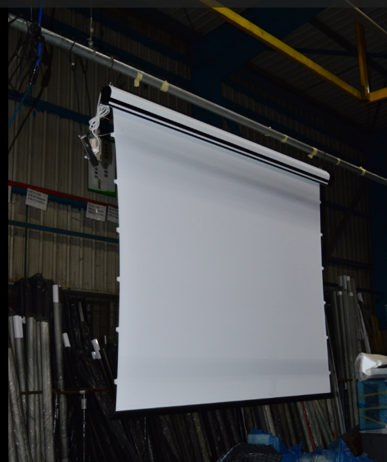 "Matte White Screen High end Home Theater Use 120"" Inch Electric Motorized HD Projection Screen"
