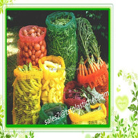 25lbs hdpe vegetable raschel mesh bags for sale