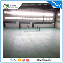 Multifunction Professional Antislip Colorful Indoor PVC Material Sport Flooring For Badminton Court with Competitive Price