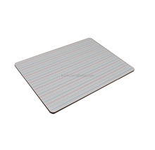 no frame 3mm mdf Dry Erase Ruled Lap Board l 9 X12 inch Lined Whiteboard