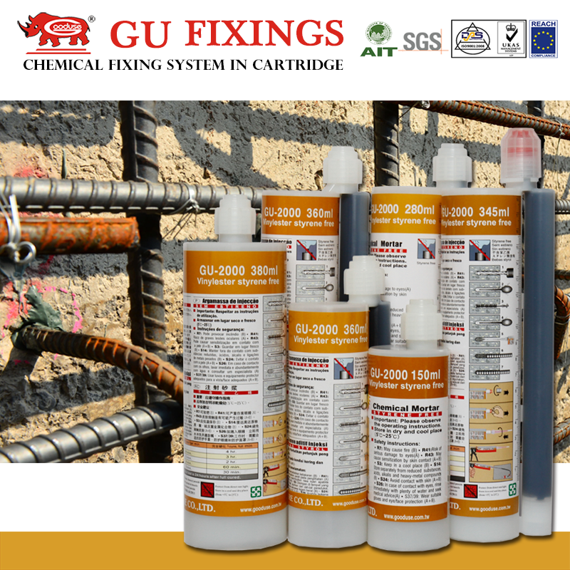 New adhesives for rebar planting steel bonding anchoring adhesive solid surface seaming seamless