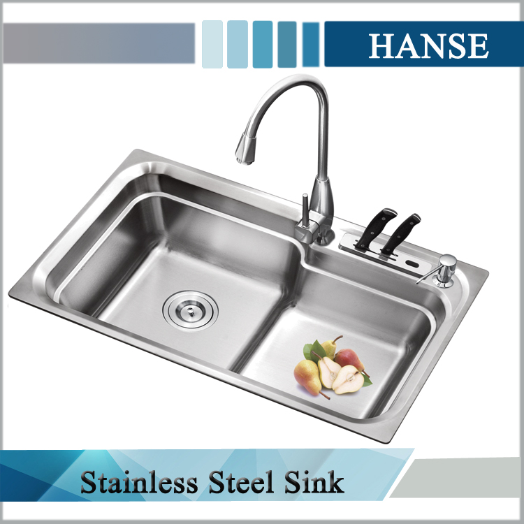 k 8246 single bowel stainless steel kitchen sink custom