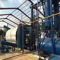 Highly competitive and profitable recycling pyrolysis machine convert tyre to oil