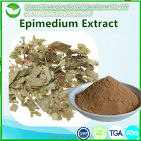 100% Natural Epimedium Extract Capsules Icariin 50% 60% 80% 98%