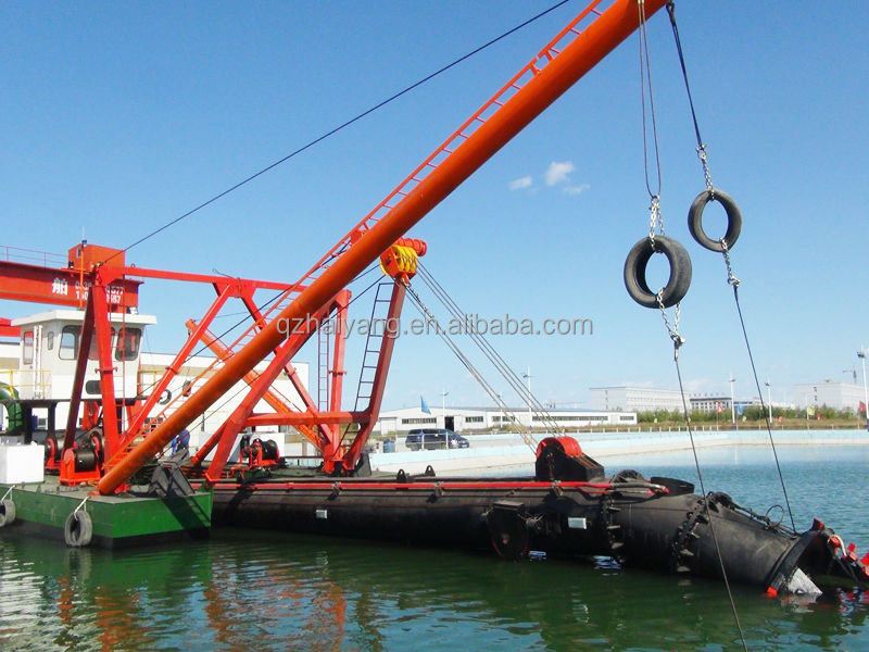 18inch 3000m3/h Hydraulic cutter suction sand dredging boat on sale