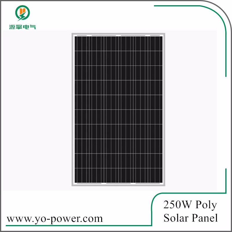 China Yo Power high efficiency 250 watt photovoltaic solar panel