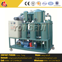 ZJA-150 two stage vacuum oil purifier waste oil centrifuge transformer oil purifier