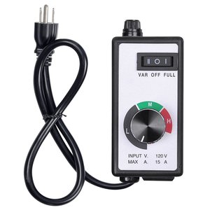 TRILITE 240V Hydroponic greenhouse Variable exhaust centrifugal light inline dimmer switch Fan Speed control Controller