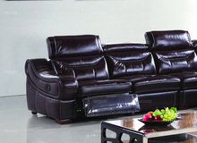 Best power most comfortable modern leather reclining sofa