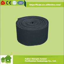 High Efficiency Non-woven Activated Carbon Roll Filter Media