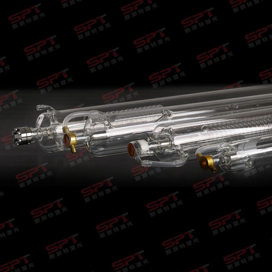 alibabab New GSI Technology co2 glass laser tube SPT co2 laser tube 100w