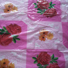 Golden flower design laminated pvc tablecloth roll,printed pvc tablecloth rolls,heat transfer film