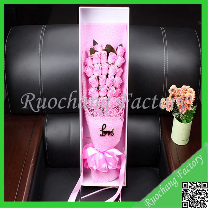 High Quality Artifical Paper Soap Flower Mini Bouquet