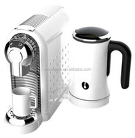 19 bar nespresso capsule coffee machine with milk frother