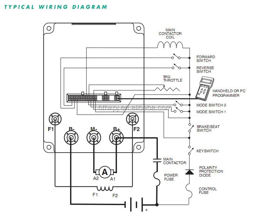 electric forklift controller 1244 curtis controller 80v