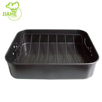 New model rectangular dry carbon steel fry pan