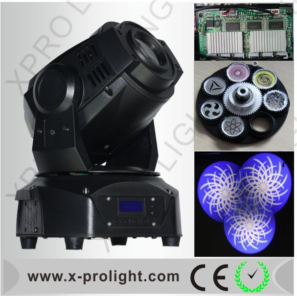 Pro-stage 60W LED Moving Head Light LED Gobo Stage Light Mobile Head Spot Light