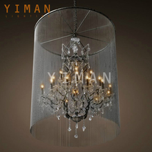 Good quality classical modern crystal chandelier bobeche