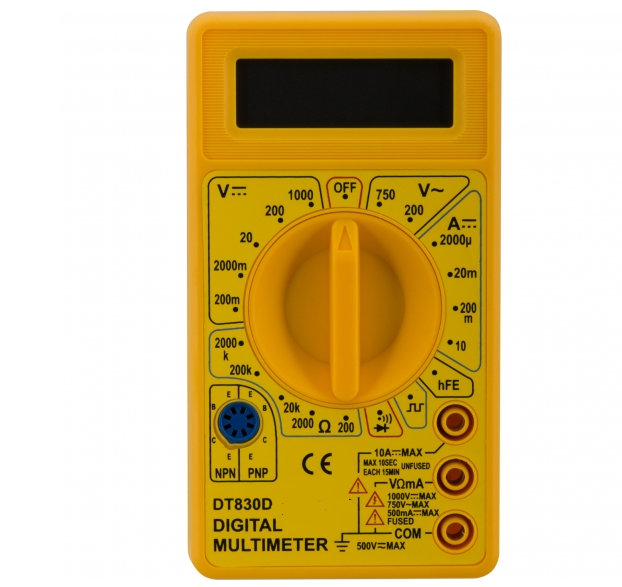 Best Sell AC DC Digital Multimeter, handheld multimeter