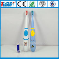 Baby sonic toothbrush with cartoon pattern,Cheap kids toothbrush with CE&ROHS,Personalized toothbrush for kids
