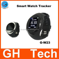 GH gps tracking watch GW23 with Bluetooth Smart Watch Mobile Phone for Adults old people