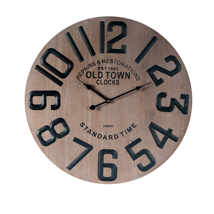 Oval Paris Decor Antique Reproduction Antique Double Sided Wall Clocks