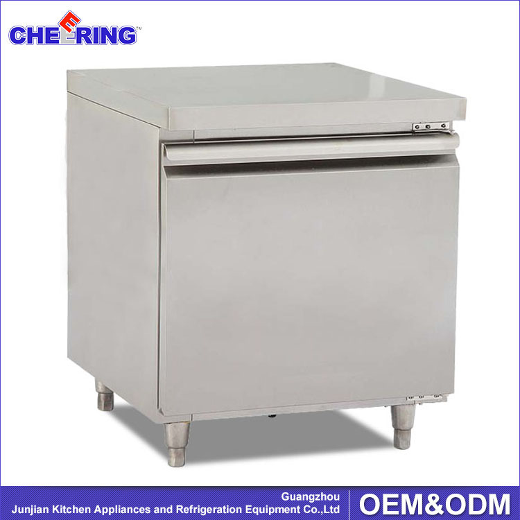 portable commercial blast freezer / chiller work bench refrigerator for kitchen