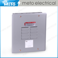 MTE1-08125-F Single-Phase Series Power Distribution System Electric Circuit Breaker Panel / Load Center