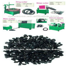 Rubber Powder from Scrape Tyre / Tire recycling machine