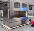 Top Quality Koue L2.4m Rinse Station application water transfer printing machine washing the products after dipping