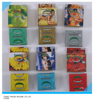 High Quality 180mm oem condom flavour/dotted/classic with 3pcs/box