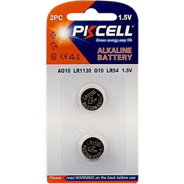 POPULAR selling coin cell 1.5v watch batteries AG10 Alkaline button cell battery free mercury