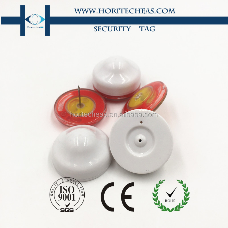 Retail RF Alarm System EAS Hard Magnetic Security Tags for Clothing & Shoes Stores