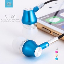 Mobile phone parts and accessories high end quality in-ear colorful earbuds earphones
