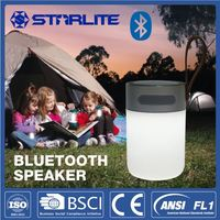 STARLITE led lantern with power bank bluetooth speakers with camping light